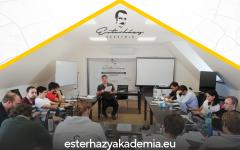 Szeptemberben rajtol az Esterházy Akadémia harmadik évfolyama – Jelentkezz!