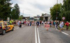 Képeken az ipolysági tüntetés