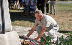 Az első és második világháború áldozataira emlékeztek Ipolyságon (Képgaléria)